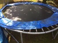 Trampoline - 8 foot.. well used but in good working order