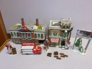 Lots of Collectible DEPT 56 Christmas Village Items & More