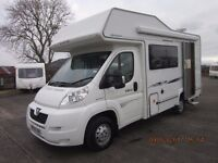 2009 ELDDIS AUTOQUEST 140 5 BERTH MOTORHOME WITH ONLY 25K MILES ANDERSON CARAVAN AND MOTORHOME SALES