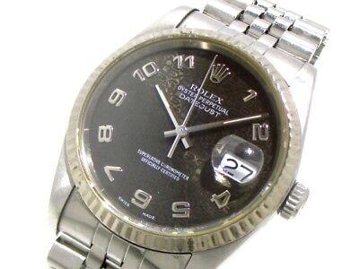 Auth ROLEX The Datejust 16234 Silver Unisex  Wrist Watch R874486