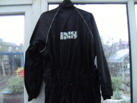 Waterproof over suit by IXS, large size will fit anyone £15.