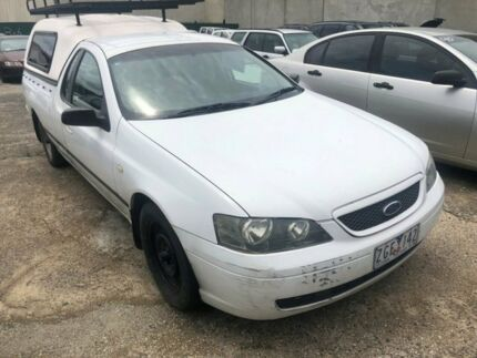 2005 Ford Falcon BA MkII XL (LPG) White 4 Speed Auto Seq Sportshift Utility Hoppers Crossing Wyndham Area Preview