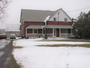 COUNTRY FARMHOUSE WITH BARN AND 43+ ACREAGE FOR YOUR PRIVACY