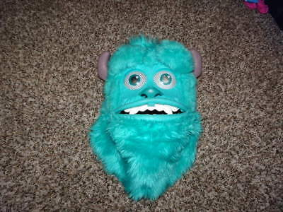 THE DISNEY STORE  MONSTERS INC SULLEY COSTUME MASK RARE