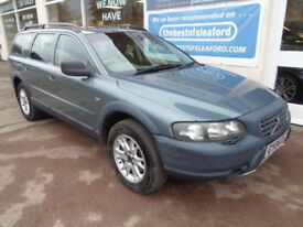 Volvo XC70 2.4 auto 2004 D5 SE Lux 4x4 Full S/H 17 stamps Sat Nav £2660 extras