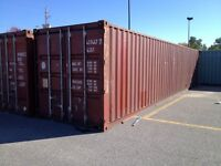 20' and 40' storage sea containers,