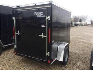 Brand New 5x8 Enclosed LOOK Utility trailer London Ontario image 2
