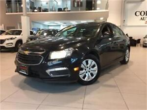 2016 Chevrolet Cruze LT-AUTO-REAR CAM-SUNROOF-ONLY 58KM