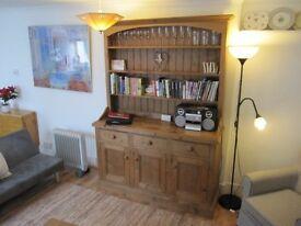 Welsh dresser in solid wood
