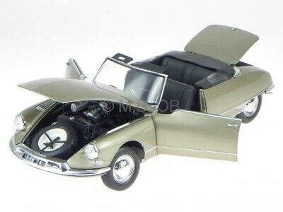 Citroen DS19 convertible grey 1961 diecast model car 181563 Norev 1/18