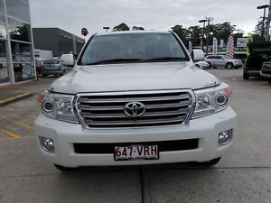 2015 Toyota Landcruiser VDJ200R MY13 Sahara White 6 Speed Sports Automatic Wagon Buderim Maroochydore Area Preview