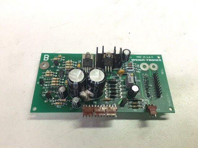 WEIGH-TRONIX CIRCUIT BOARD D48317-REV