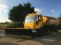 2005 55 IVECO-FORD EUROCARGO 5880 CC 180E24 18T GRITTER SPREADERS WITH SNOW PLOU