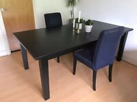 IKEA STORNAS extendable dining table (up to 12 people)