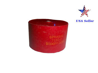 Sprague 715c-z 2500pf 30kv Doorknob Capacitor