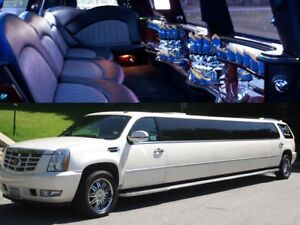 Mississauga wedding limo stretch night out limousine