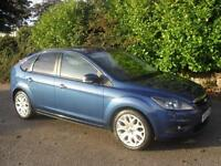 Ford Focus 1.6 ( 100ps ) 2009.5MY Zetec ONLY 46000 Mls FSH 2 Keys Clean