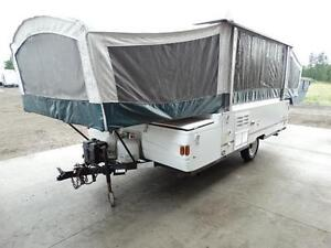 2001 Coleman 10 foot pop up tent trailer