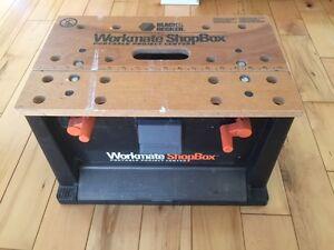 Black & Decker Workbench Shopbox