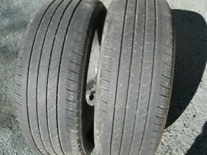 GREAT PAIR OF MICHELIN 215/55R17 $40 FOR BOTH.