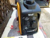 WOLF INVERTER 950 SUITCASE GENERATOR---NEARLY NEW