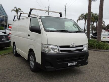 2012 Toyota Hiace KDH201R MY12 Upgrade LWB White 4 Speed Automatic Van Nowra Nowra-Bomaderry Preview