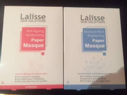 Lalisse Skin Solutions Moisture face mask Paper Masque 3pcs