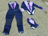 Womans 3 Piece Diving/Surfing Suit
