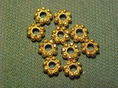Sasanian solid gold decorative bead circa 224-642 AD