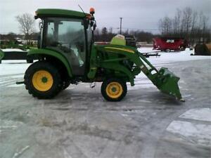 2016 JOHN DEERE 3039R TRACTOR LOADER AND CAB