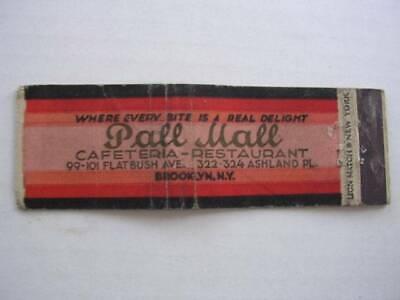 1930's Pall Mall Cafeteria Flatbush Ave & Ashland Pl Brooklyn NY (Brooklyn Mall New York)