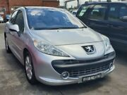 2007 Peugeot 207 XE Silver 4 Speed Automatic Hatchback Granville Parramatta Area Preview