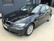 2007 BMW 320i E90 07 Upgrade Executive Black 6 Speed Steptronic Sedan Mortdale Hurstville Area Preview
