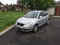 +2009 09 Reg Volkswagen Polo 1.4 ( 80ps )Match,DONE ONLY 6,000 MILES YES ONLY 6K