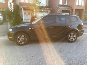 2007 BMW X3 SUV, Crossover. Black, Great Condition - $10,000