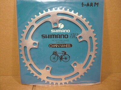 NOS W-Cut Road Chainring Shimano 600 EX FC-6207 44Tx130BCD NEW 5//6//7//8-Spd