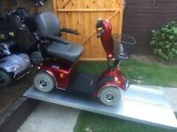 Heavy Duty Freerider Mayfair Sport Mobility Scooter With Huge Batteries-21 Stone Capacity-Was £3500