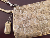 COACH GOLD/SILVER WRISTLET LIKE NEW!!!
