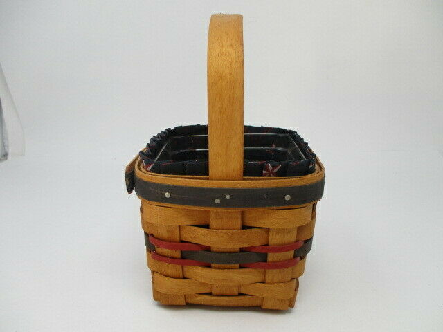 Longaberger 1993 Inaugural Basket w/ Liner and Protector