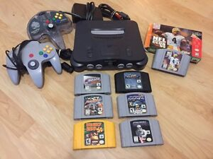 Nintendo 64 bundle with 7 games and accessories