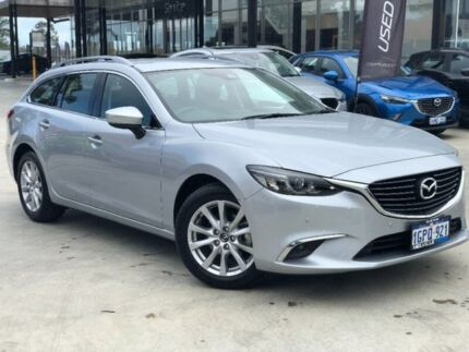 2017 Mazda 6 GL1031 Touring SKYACTIV-Drive Silver 6 Speed Sports Automatic Wagon Palmyra Melville Area Preview