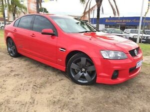 2010 Holden Commodore VE MY10 SS Red 6 Speed Manual Sedan Wangara Wanneroo Area Preview