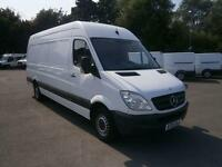 Mercedes-Benz Sprinter 313 CDI LWB 3.5t Luton DIESEL MANUAL WHITE (2013)