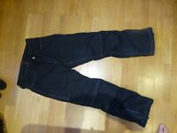 Hein Gericke Motorbike Waterproof Trousers Size UK30