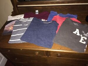 Mens' Size XS/S Shirts, Shorts, Pants, Belts...