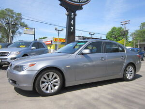 2007 BMW 5 Series 525i ~ LOW KMS ~SUNROOF~LEATHER~WARRANTY AVAIL