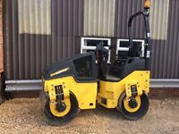 Bomag BW120AD-5 2014 Tandem Roller Excellent Condition