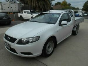 2008 Ford Falcon FG White Automatic Utility Preston Darebin Area Preview