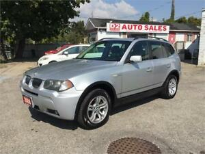 2006 BMW X3 Leather/Roof/Loaded/Automatic/Certified