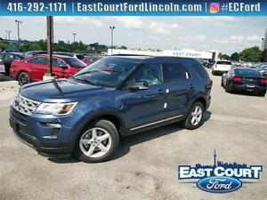 2018 Ford Explorer XLT, $111/wk, twin roof, NAV, backup cam